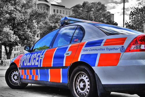 Police Car HDR by NCSphotography