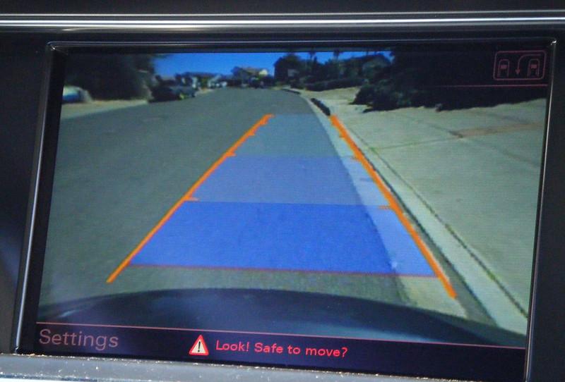Audi Rearview Camera