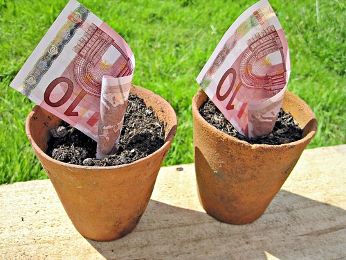 Euro Money in Pots | by Images_of_Money