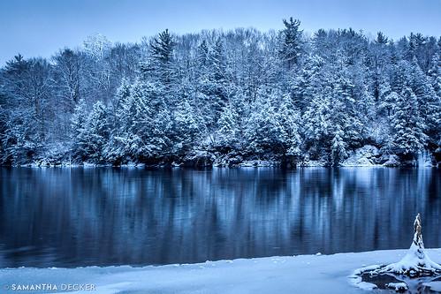 adobephotoshopcs6 canonefs1755mmf28isusm canoneos60d glensfalls havilandcovepark hudsonriver ny newyork samanthadecker snow tree upstate winter