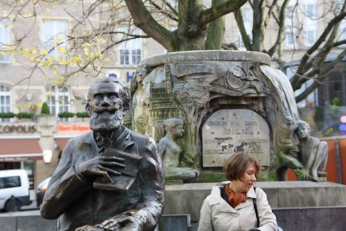 Belgique - Bruxelles - Fontaine Charles Buls