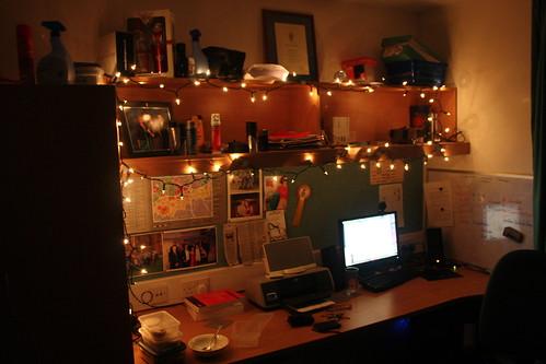Fairy lights and my room