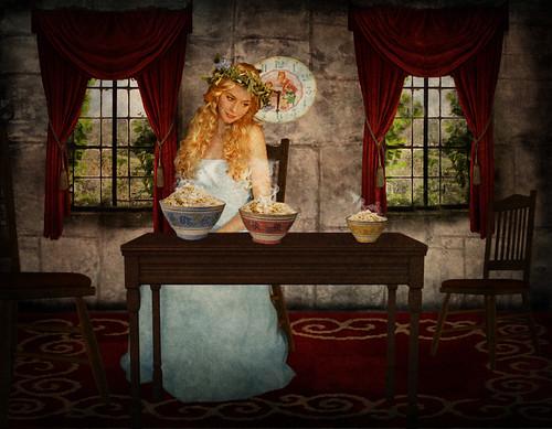 Goldilocks | by violscraper