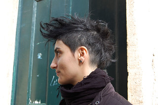 black advanced mohawk | by wip-hairport