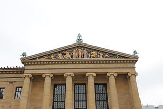 Philadelphia Museum of Art - pediment detail