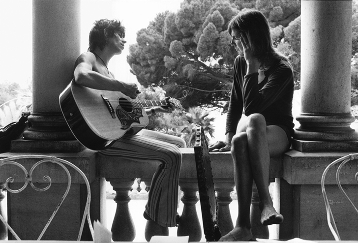 Keith Richards & Gram Parsons