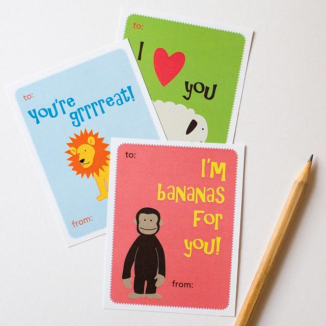 printable valentine's cards