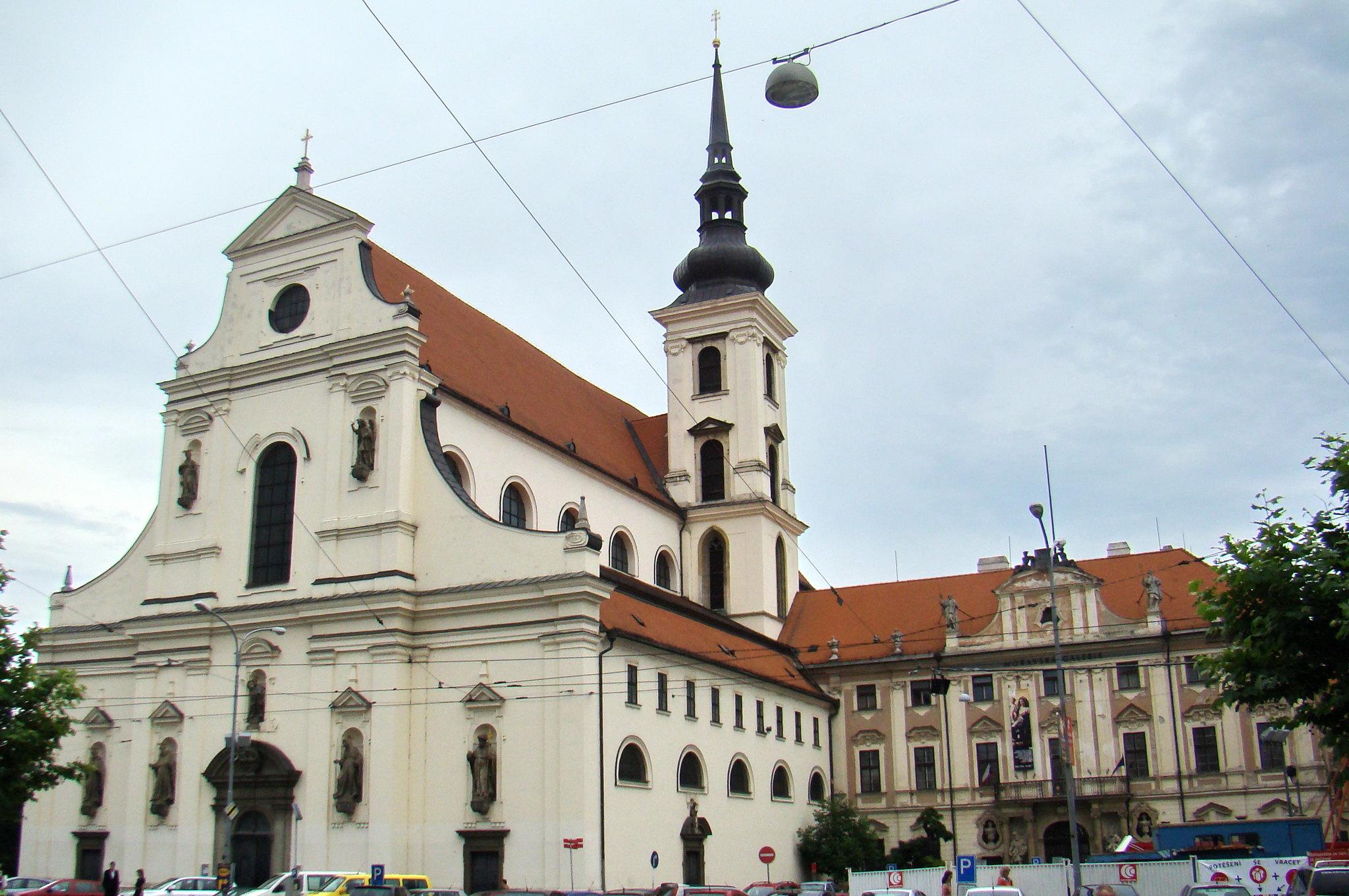 Iglesia de Santo Tomas de Brno Chequia