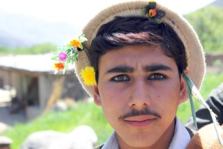 Flowers in his hair | by Todd Huffman