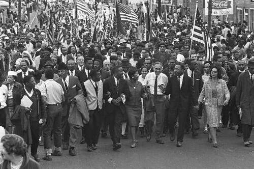 CIVIL RIGHTS MARCH KING