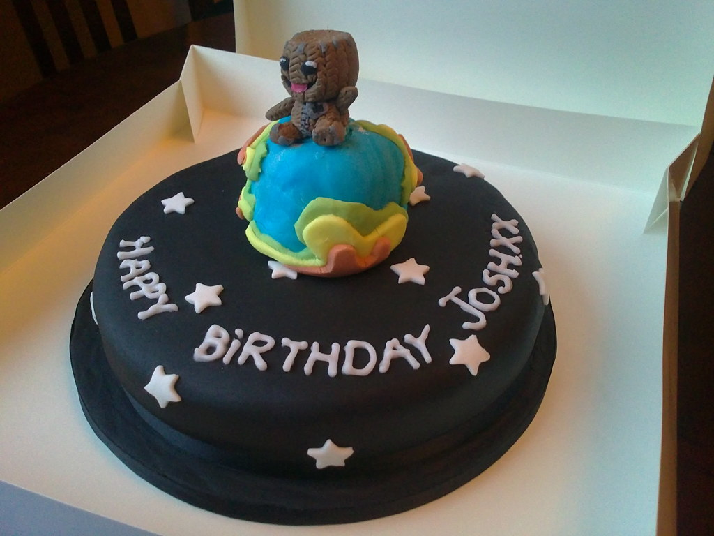 Prime I C E D Little Big Planet Birthday Cake Lorraine Hampton Flickr Birthday Cards Printable Riciscafe Filternl