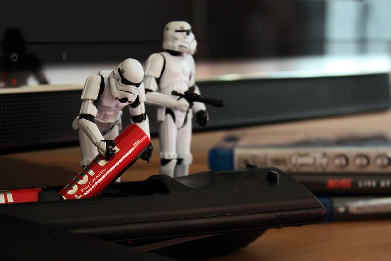 Sabotage #3: Taking off batteries