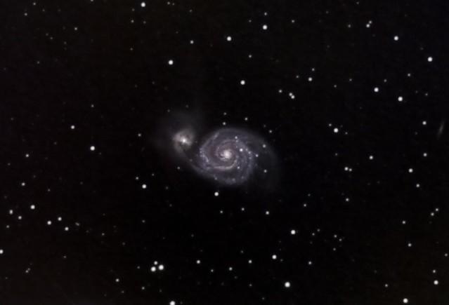 M51 Whirlpool - Crop & Rescale