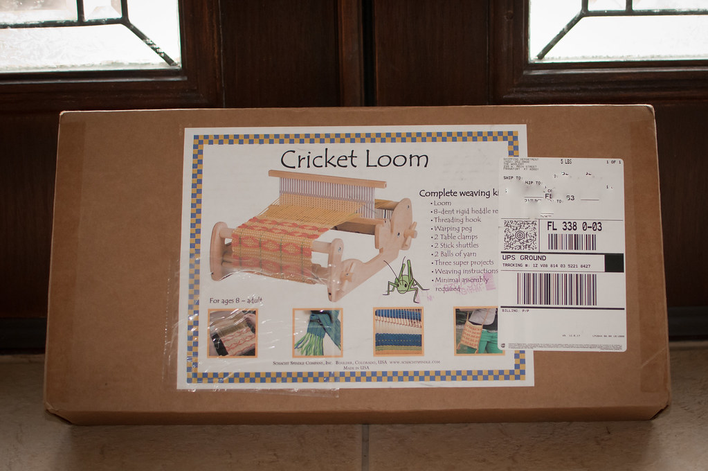 Schacht Cricket Loom | ❀Patti-Jo | Flickr