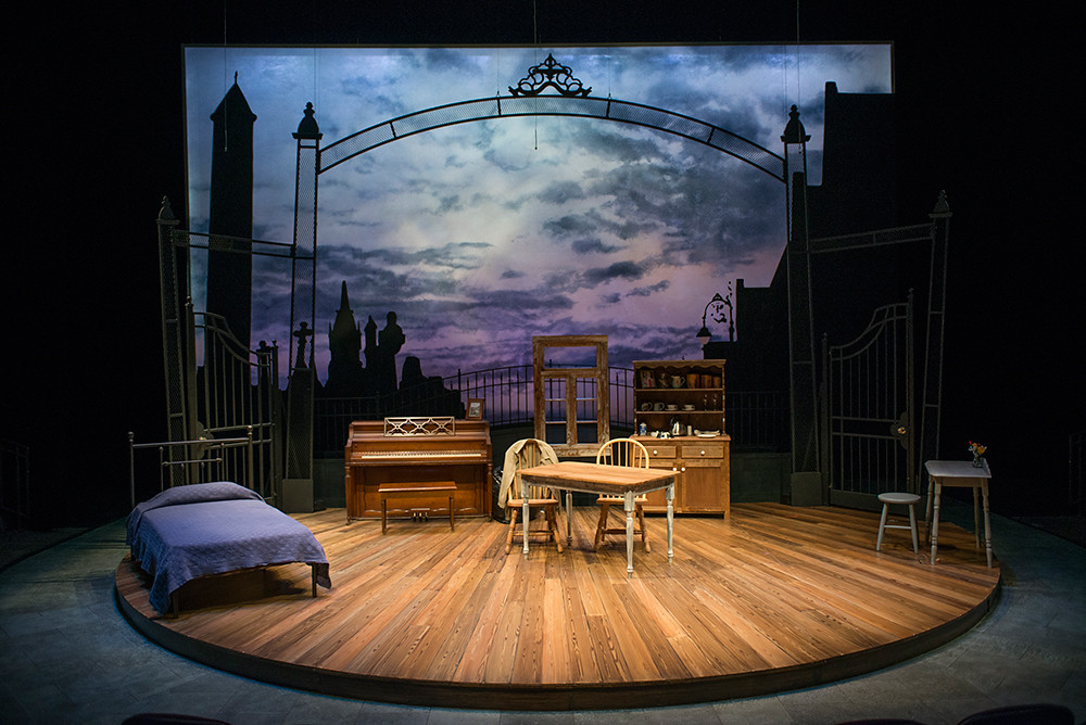Chapatti scenic design by Jack Magaw