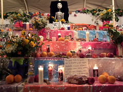 Day Of The Dead altar   by bp fallon