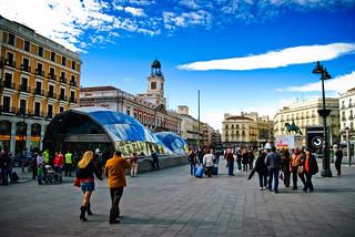 Tragabolas en la Puerta del Sol   by multisanti