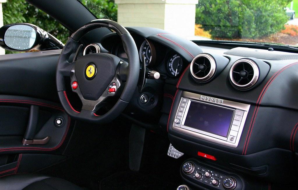 2010 Ferrari California interior   egon   Flickr