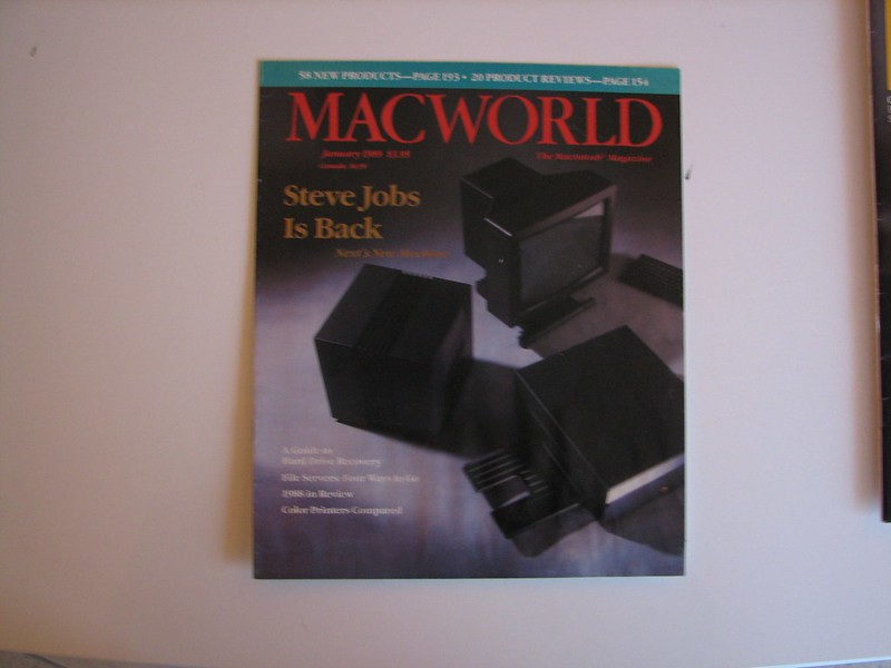 "MACWORLD Reprint of ""Steve Jobs is Back"" article, Jan 1989"