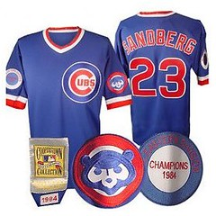 lowest price bfaf9 fd304 Ryne Sandberg Jersey - 1984 Chicago Cubs Throwback Jersey ...