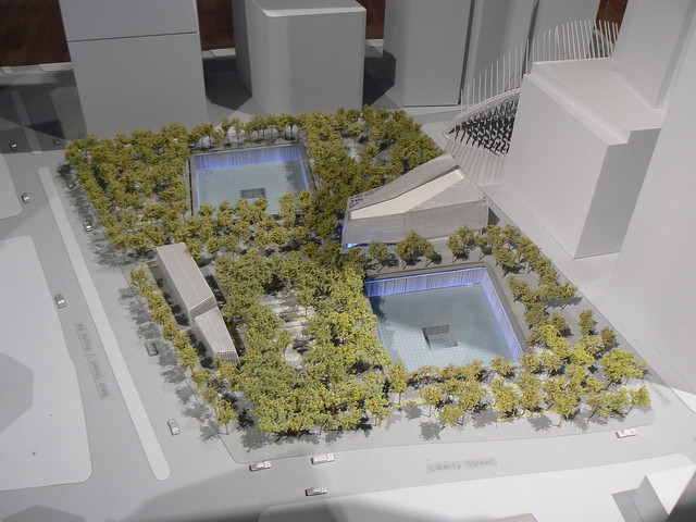 Model of the NEW WTC Memorial