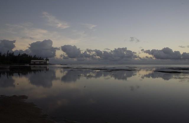 Dusk, Bel Ombre, Mauritius
