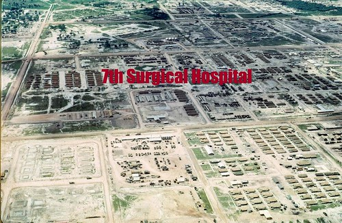 An Aerial View of Cu Chi with the 7th Surgical Hospital in the center by Dr Neill Baker | by 7th Surgical Hospital (MA)  Vietnam