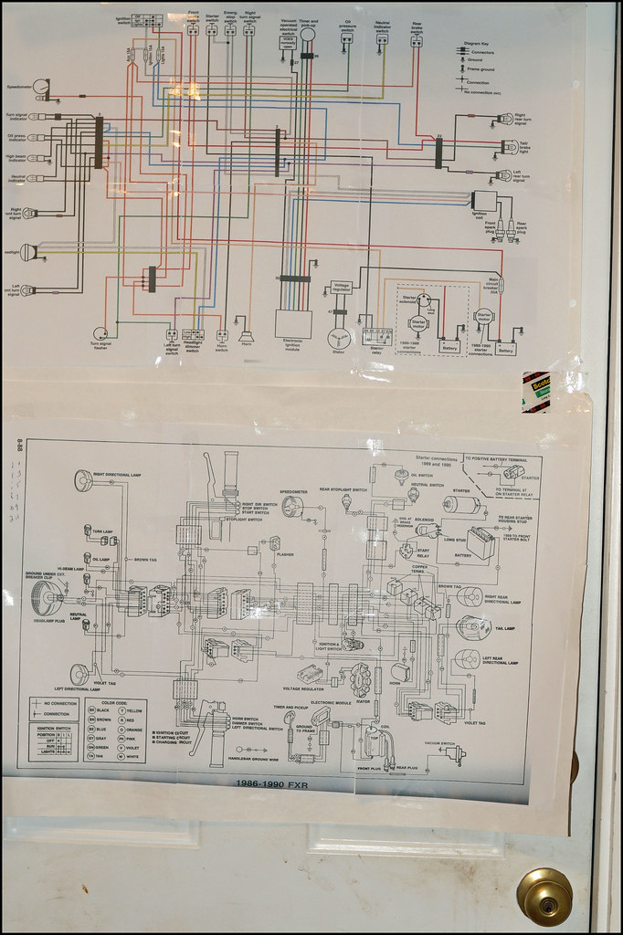 110  365  Mar 4th   1990 Fxr Superglide Wiring Diagrams