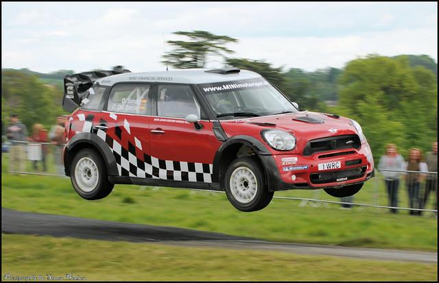 The Rally Show 2011 - Prodrive John Cooper Works Mini WRC - Dani Sordo