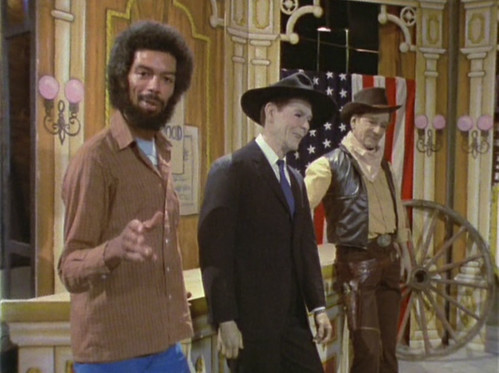 gil scott-heron ronald reagan and john wayne - b movie american selective amnesia