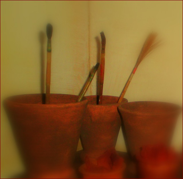 Rembrandt's Brushes