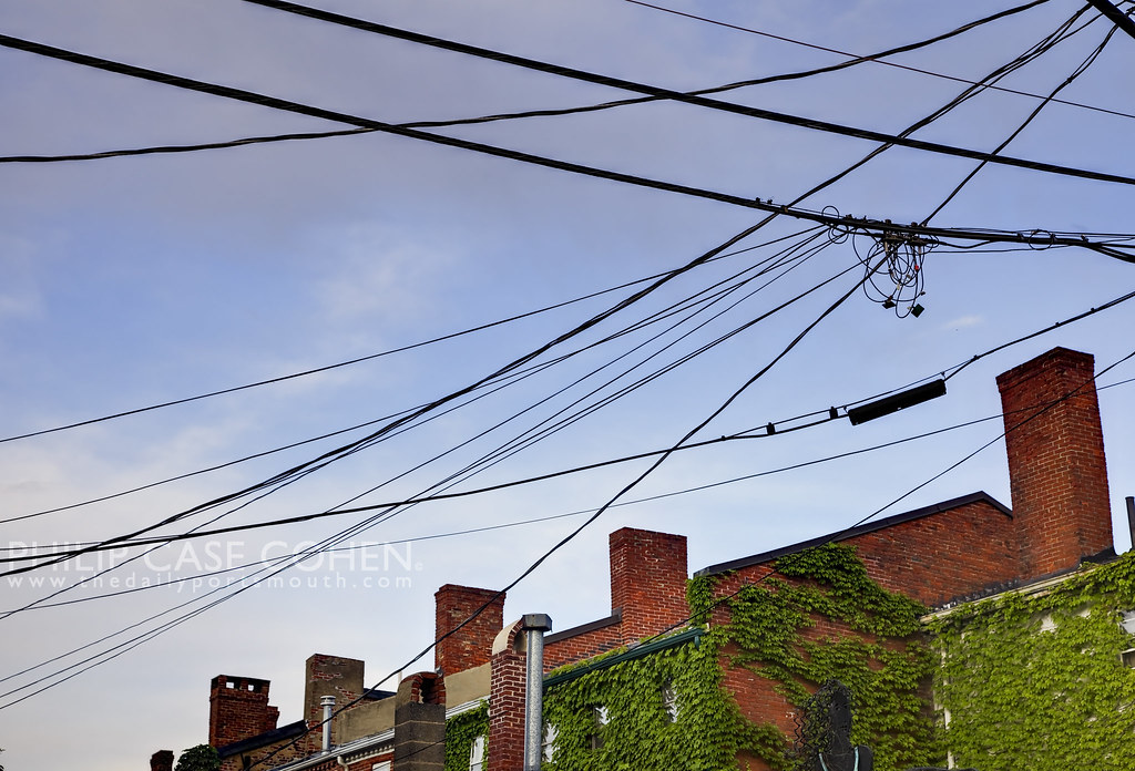 Chimneys & Wires by Philip Case Cohen