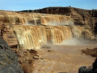 Grand Falls of the Little Colorado River near Flagstaff, AZ | by Alaskan Dude