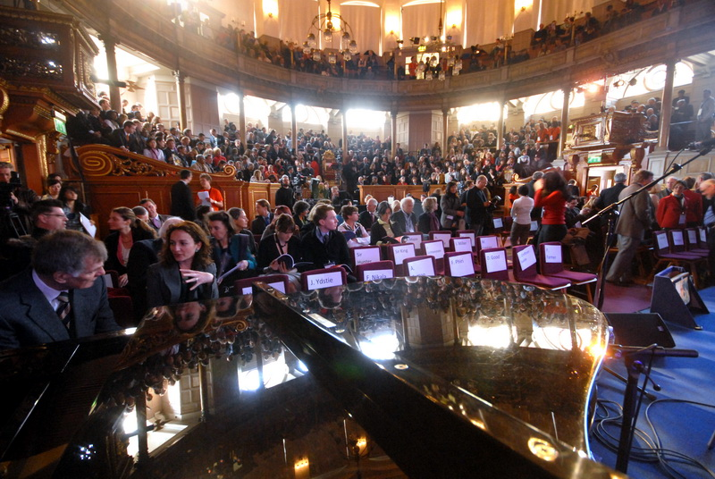 Opening plenary at Sheldonian Theatre