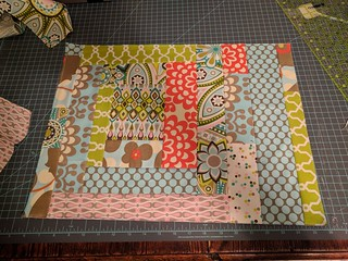 Foundation Piecing Side 1 - for grocery bag