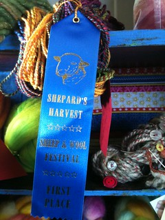 1st place for Bulky Yarn.
