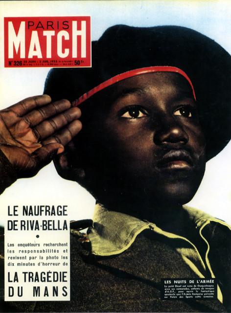 Paris Match no 326 1955