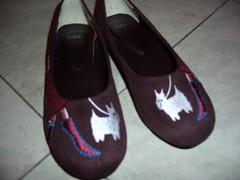 cutesy new shoes