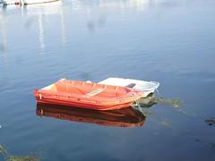 bateau et reflexion