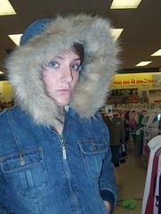Me new coat