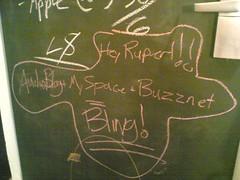 Rupert Murdoch: AudioBlog + MySpace + Buzznet = Bling | by roland