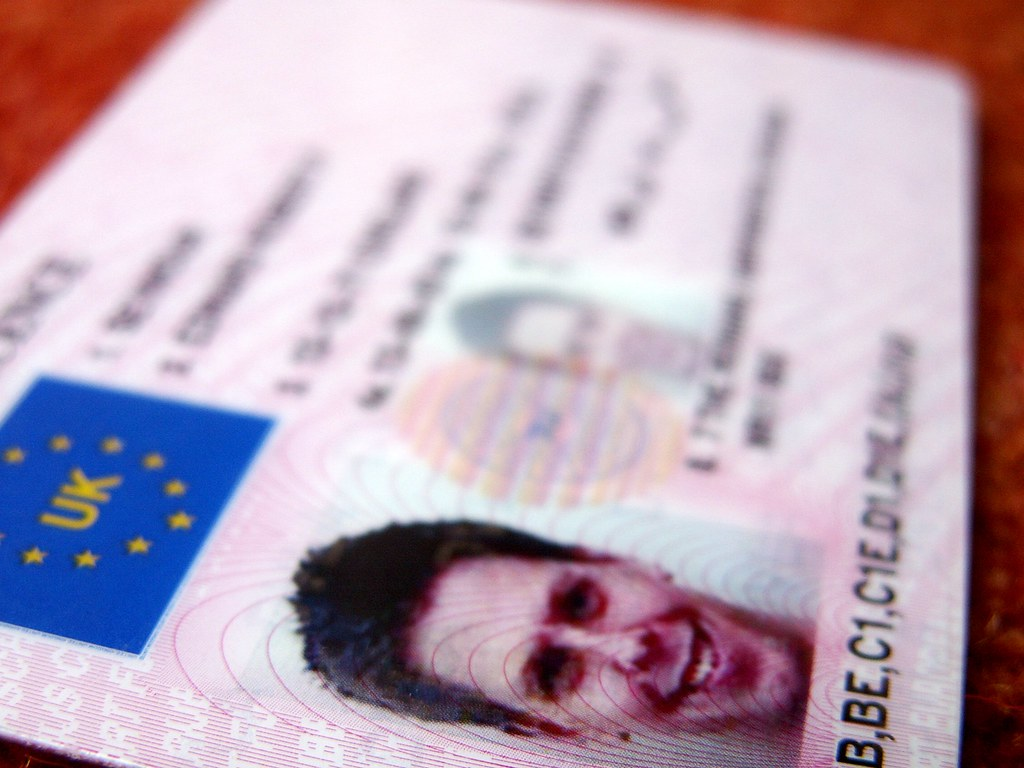 Driving licence card | Ed Seymour | Flickr