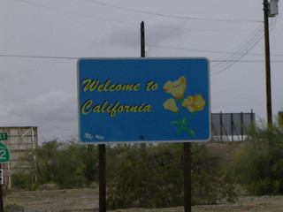 "Welcome ""back"" to California 