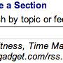 Google Fusion add feed