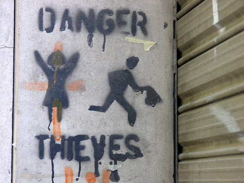 Danger. Thieves. | by V@n