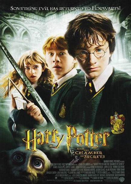 Risultato immagini per harry potter and the chamber of secrets