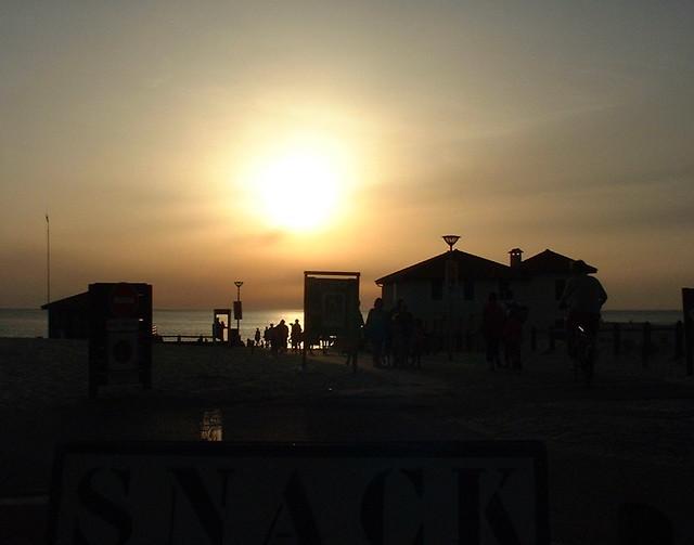 Coucher de soleil à Moliets et Maa