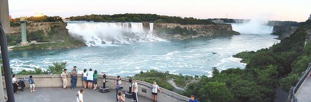 Panoramic of the Falls