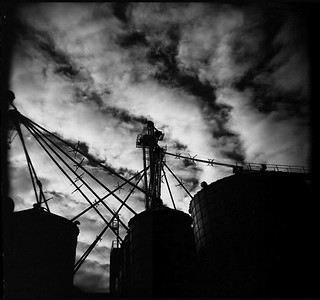 Holga: Grain Silos | by Matt Callow