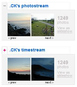 Chronological Flickr Photostream | by .CK